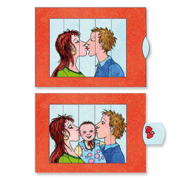 Lovebaby slide card - Olleke | Disney and Harry Potter Merchandise shop