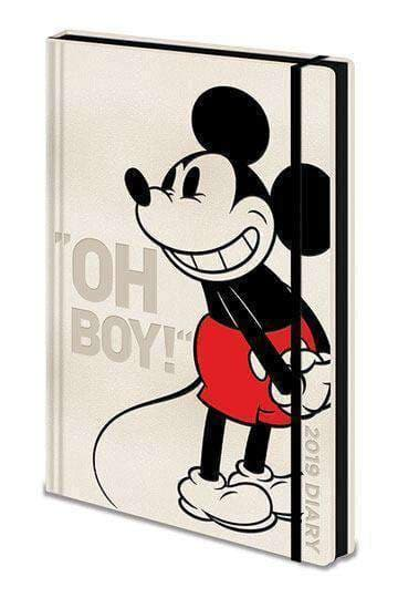 Stationary - Mickey Mouse Diary Oh Boy! 2019