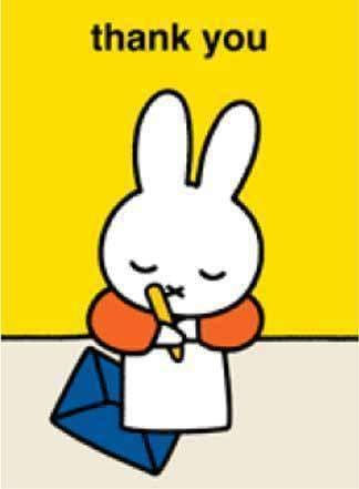 Stationary - Miffy Card