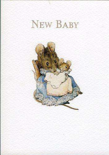Peter Rabbit Card: Hunca Munca 'New Baby' Olleke | Disney and Harry Potter Merchandise shop Hype