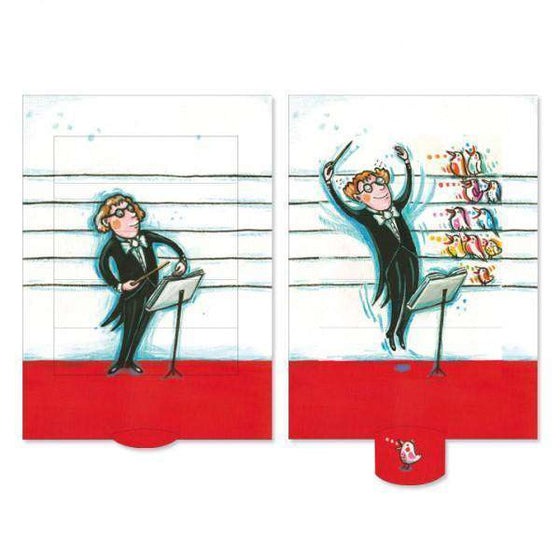 Stationary - Orchestra Slide Card