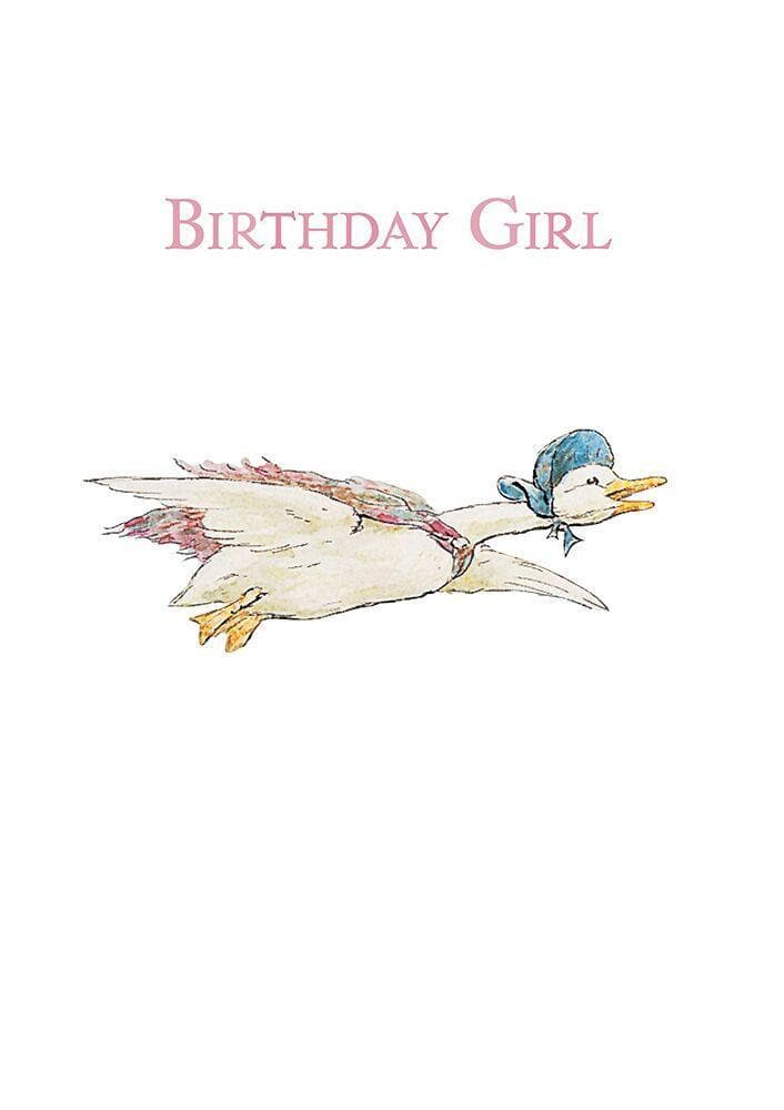 Peter Rabbit Card: Birthday Girl - Olleke | Disney and Harry Potter Merchandise shop