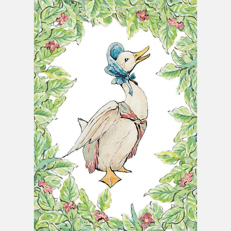 Peter Rabbit Card: Jemima Puddle-Duck - Olleke | Disney and Harry Potter Merchandise shop