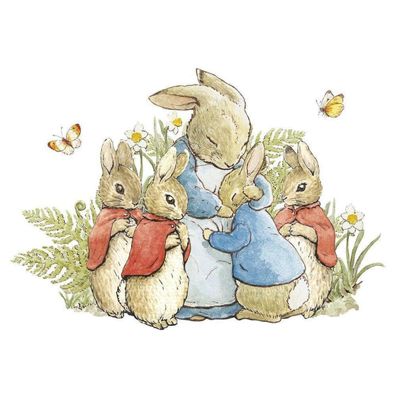 Stationary - Peter Rabbit Card: Mrs Rabbit