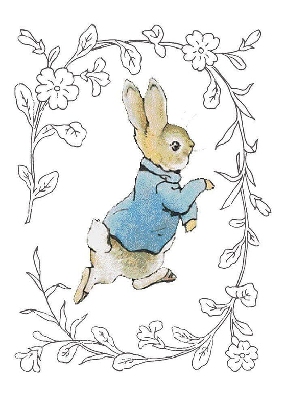 Peter Rabbit Card: Peter Rabbit Running Olleke | Disney and Harry Potter Merchandise shop Hype