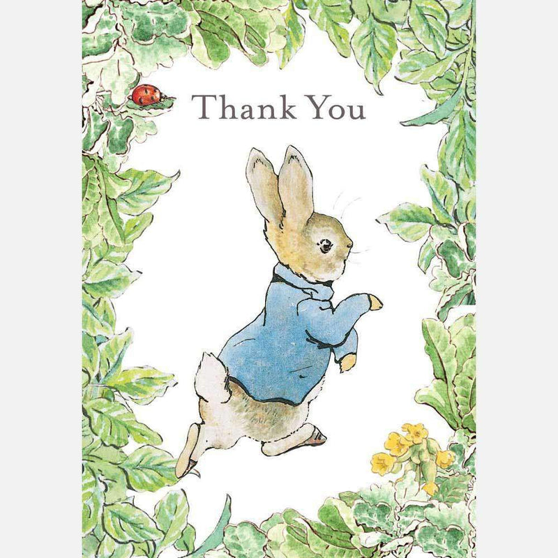 Peter Rabbit Card: Peter Rabbit 'Thank You' - Olleke | Disney and Harry Potter Merchandise shop