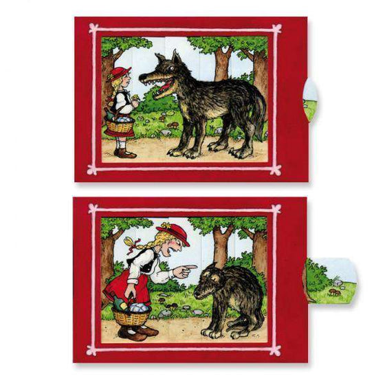 Red Riding Hood slide card Olleke | Disney and Harry Potter Merchandise shop Kabouterpers