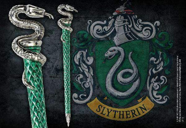 Slytherin Pen Silver Plated - Olleke | Disney and Harry Potter Merchandise shop