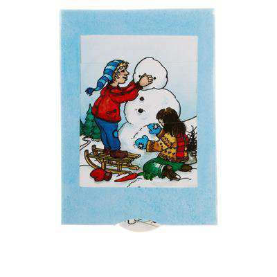 Stationary - Snowman Slide Card