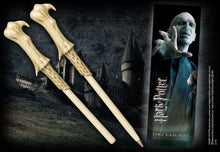 Voldemort Wand Pen and Bookmark Olleke | Disney and Harry Potter Merchandise shop The Noble Collection