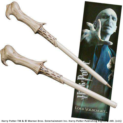 Voldemort Wand Pen and Bookmark - Olleke | Disney and Harry Potter Merchandise shop