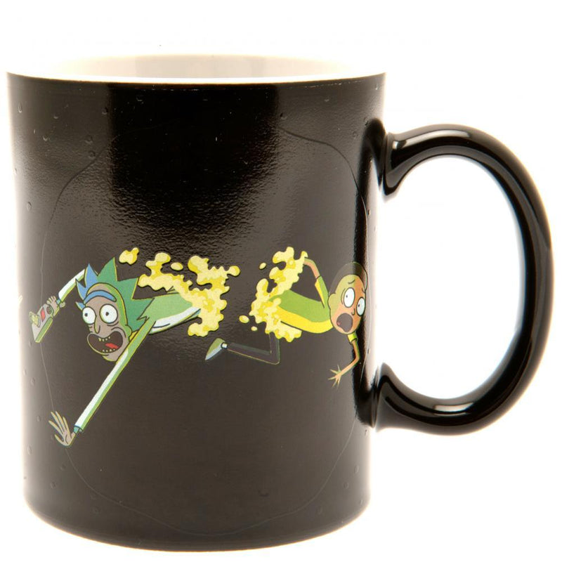 Rick And Morty Heat Changing Mug Portal - Olleke | Disney and Harry Potter Merchandise shop