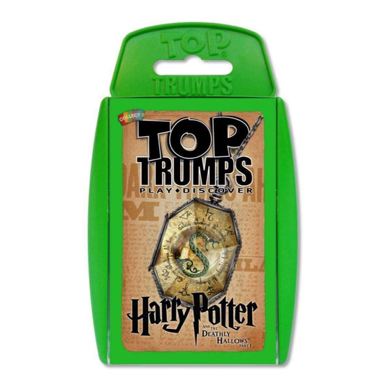 Harry Potter Top Trumps - Harry Potter and The Deathly Hallows 1 Olleke | Disney and Harry Potter Merchandise shop Winning Moves