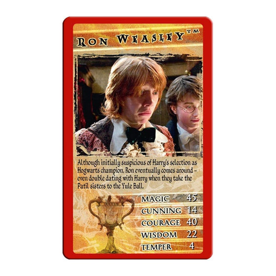 Toys - Harry Potter Top Trumps - Harry Potter And The Goblet Of Fire
