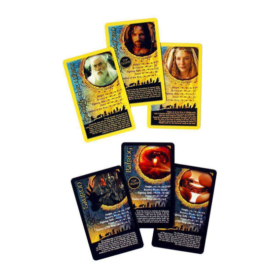 Lord of the Rings Top Trumps Collectors Tin Olleke | Disney and Harry Potter Merchandise shop Winning Moves