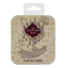 Marauders Map Playing Cards Olleke | Disney and Harry Potter Merchandise shop Paladone