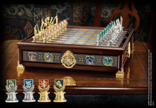 Quidditch Chess Set Silver & Gold Plated Olleke | Disney and Harry Potter Merchandise shop The Noble Collection