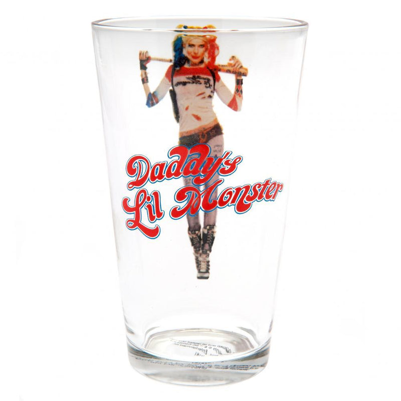 Suicide Squad Large Glass Harley Quinn - Olleke | Disney and Harry Potter Merchandise shop