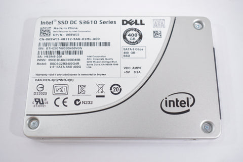 Dell Intel SSD DC S3610 Series 400GB Hard Drive 065WJJ