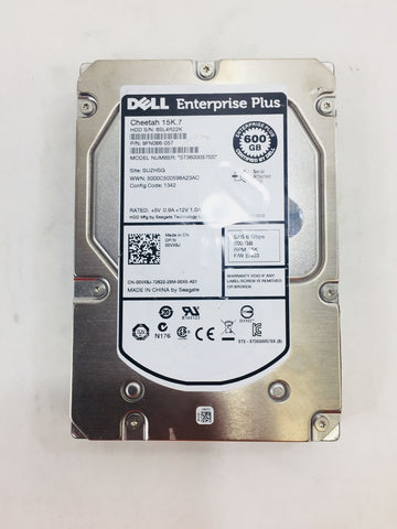 Dell Enterprise Plus Cheetah 002R3X 600GB 6Gbps 15K.7 SAS HDD CFG 1342