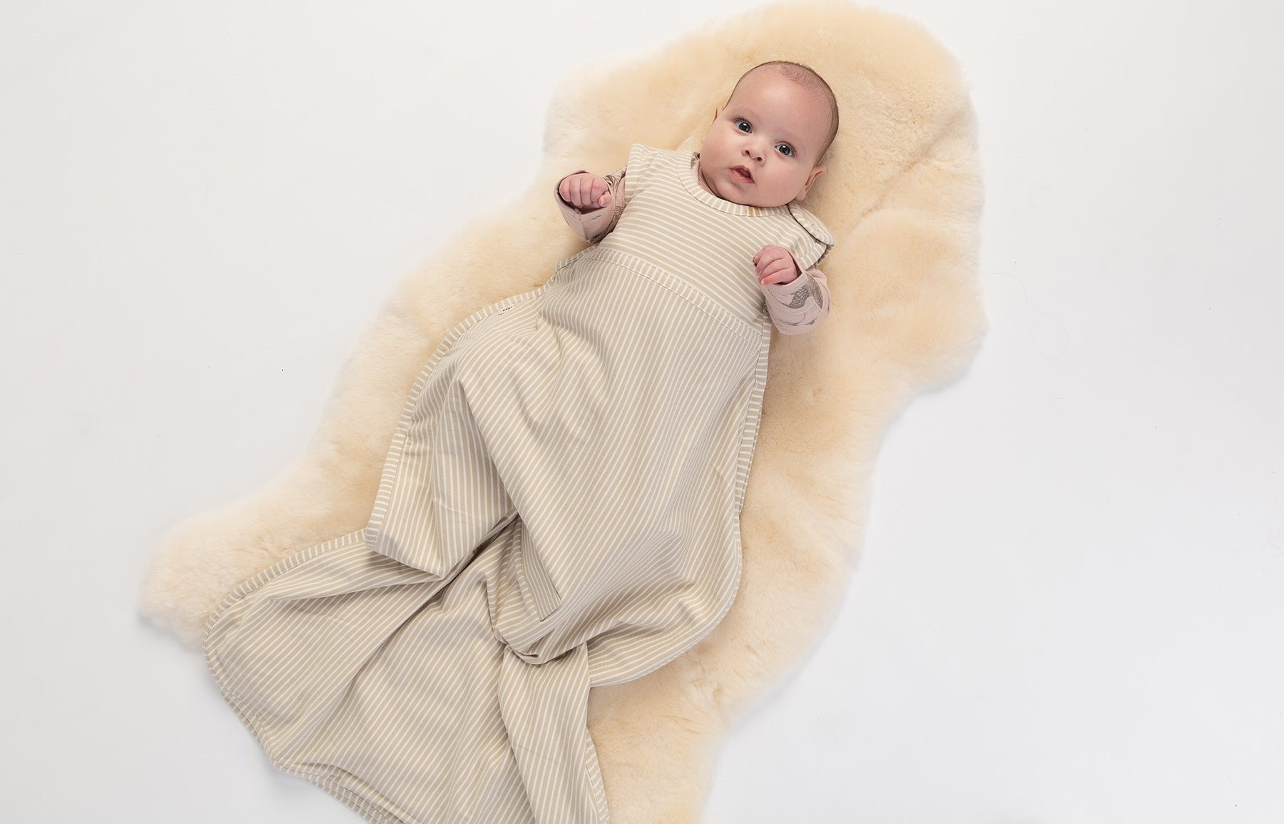 Discover the iconic Go Go Bag -                          Our Go Go Sleeping Bag is the world's first natural baby sleep bag to use 100% superfine merino wool to keep baby at a safe, regulated temperature throughout their sleep.