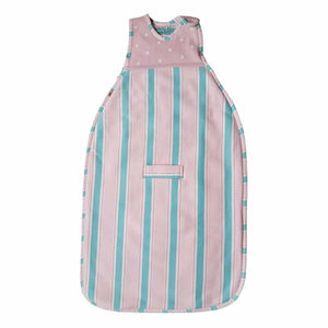 Merino Kids Go Go Baby Sleeping Bag - Winter Weight - Pink/Aqua - Sleeping Bags - Natural Baby Shower