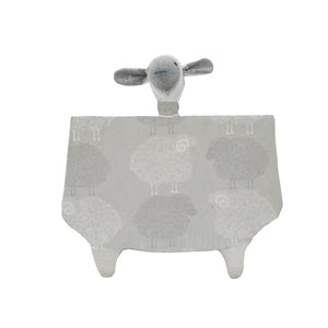 Aoraki Snuggle Sheep - Light Grey
