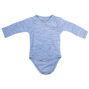 Merino Kids Cocooi Bodysuit - Banbury - Bodies & Vests - Natural Baby Shower