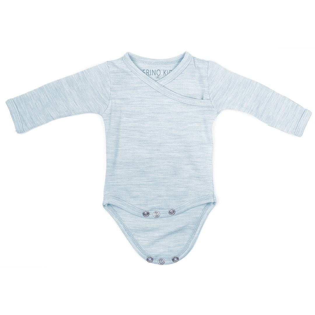 Merino Kids Cocooi Bodysuit - Turtle Dove - Bodies & Vests - Natural Baby Shower