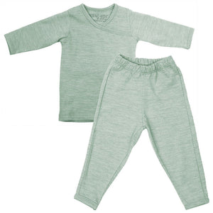 Merino Kids Essentials - Pyjamas - Mint - Pyjamas - Natural Baby Shower