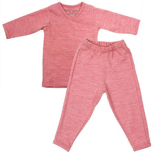 Merino Kids Essentials - Pyjamas - Raspberry - Pyjamas - Natural Baby Shower