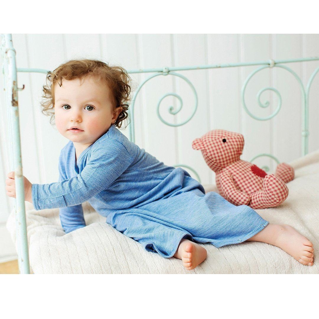Merino Kids Essentials Gown - Banbury - Sleep Gowns - Natural Baby Shower