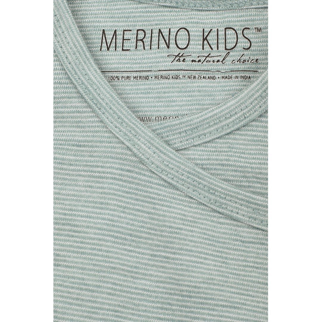 Merino Kids Essentials Gown - Mint - Sleep Gowns - Natural Baby Shower