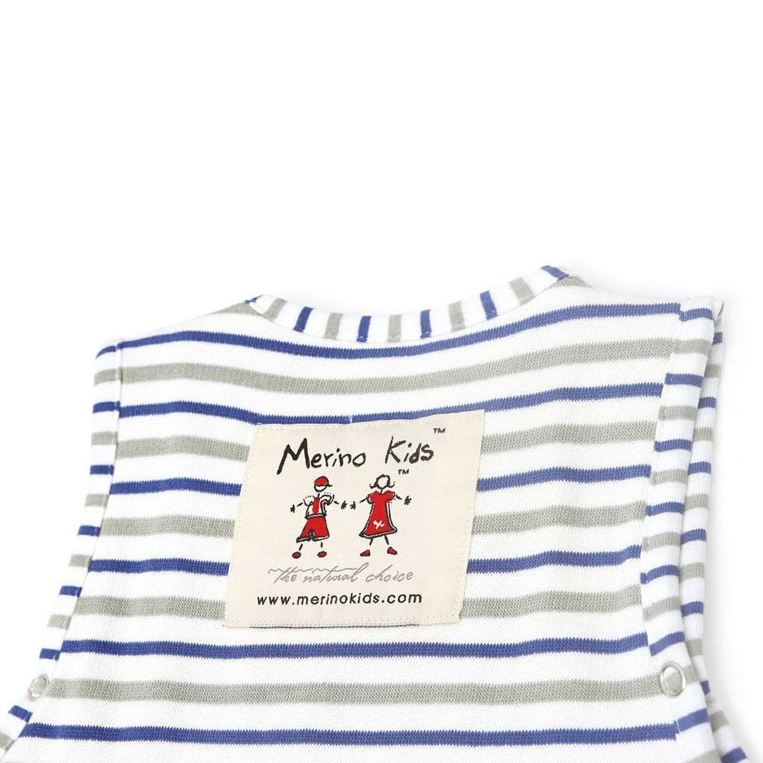 Merino Kids Go Go Toddler Sleeping Bag - Duvet Weight - Banbury & Mint - Sleeping Bags - Natural Baby Shower