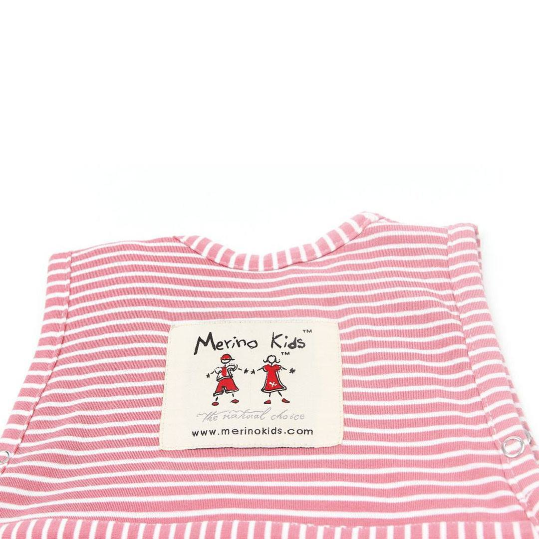 Merino Kids Go Go Baby Sleeping Bag - Standard Weight - Raspberry - Sleeping Bags - Natural Baby Shower