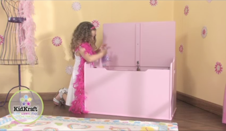 Girl Toy Box Pink