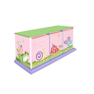 Magic Garden Cubby Bench | Toy Box City