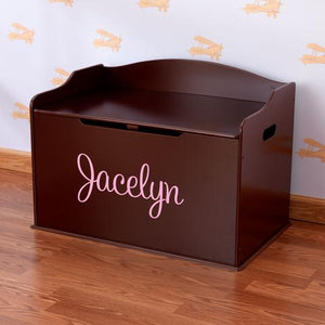 Personalized Cherry Austin Toy Box