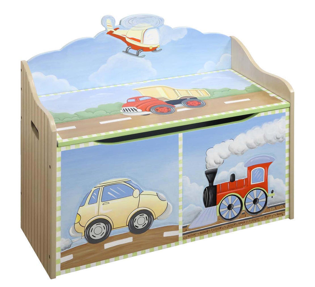 Transportation II Toy Box | Toy Box City