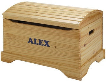Solid Wood Captain's Chest - Personalized - More Colors
