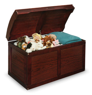 Barrel Top Toy Box - Cherry | Toy Box City