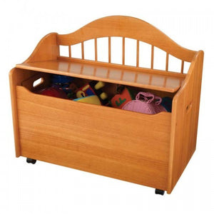 Limited Edition Toy Chest in Honey | Toy Box City