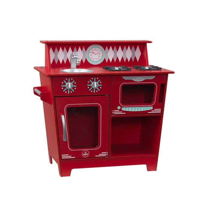 Toy Red Classic Kitchenette for Children