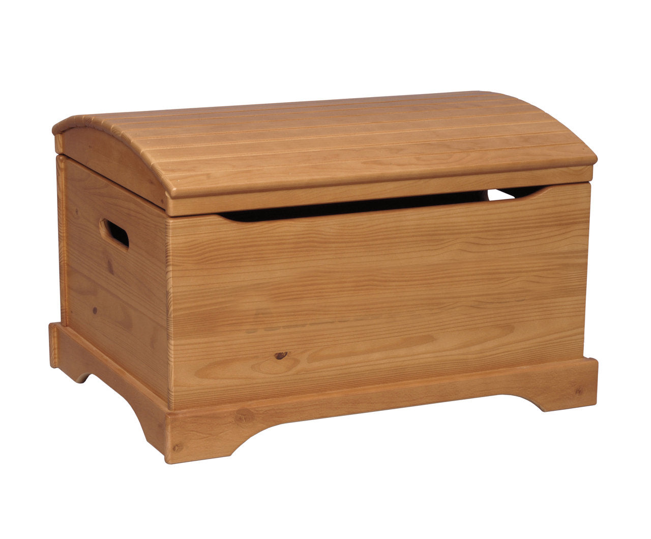 Solid Wood Captain's Chest - Personalized - More Colors | Toy Box City