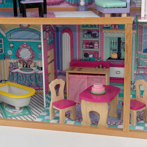 KidKraft Annabelle Dollhouse For Girls | With Balcony