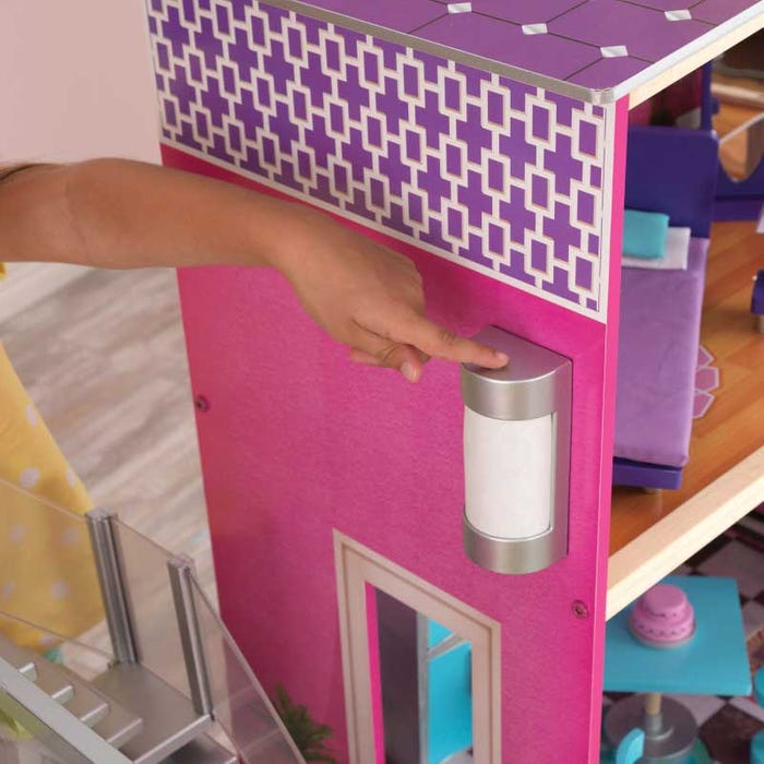 KidKraft Uptown Dollhouse For Kids | Four Feet Tall!
