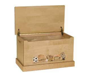 Amish Sports Toy Box | Toy Box City