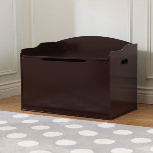 Austin Toy Box in Cherry | Toy Box City