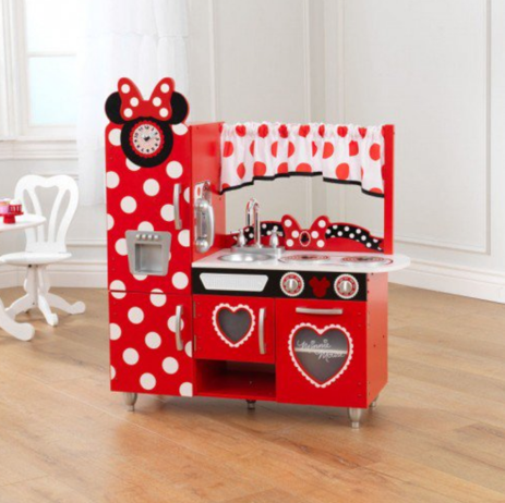 Disney Bowtique Minnie Mouse Toy Kitchen Playset