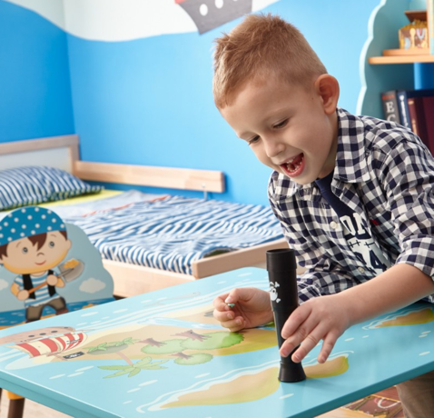 Pirate Island Kids Table | For Children and Toddlers